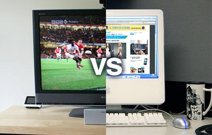 Інтернет наздогнав телебачення за популярністю в США