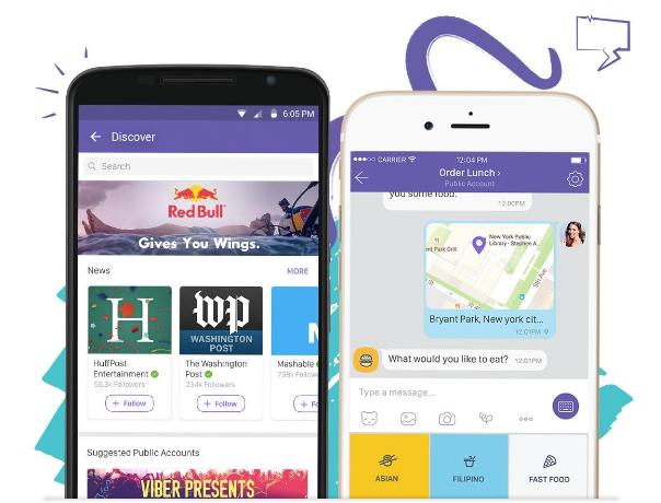 Viber запускає публічні екаунти для бізнесу з можливістю спілкування з користувачами