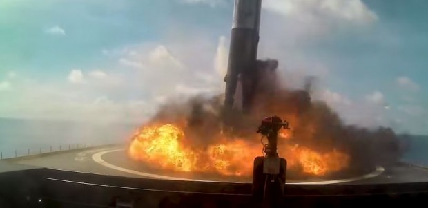 Як зуміти не посадити ракету: Маск показав видовищне відео з невдалих запусків Falcon 9