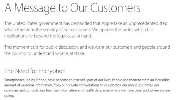 Apple відмовилася розблокувати iPhone на вимогу ФБР, її підтримали керівники Google та WhatsApp