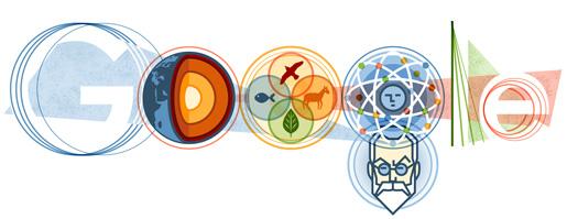 Google присвятив свій логотип Володимиру Вернадському