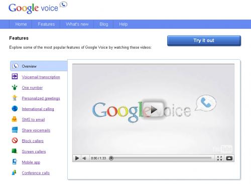 Google Voice відкрився для всіх бажаючих... поки що лише в США