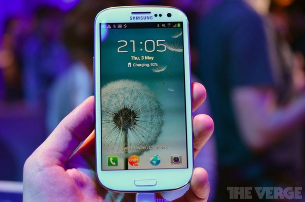 Samsung презентував Galaxy S III, новий смартфон на Android