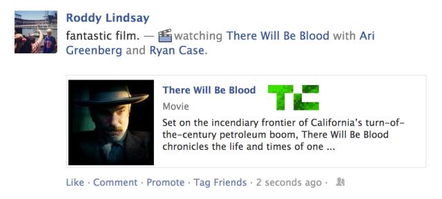 Facebook додасть до статусів що ви дивитесь, слухаєте, читаєте, їсте, пєте тощо