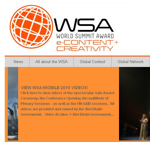 ІнАУ делегувала на World Summit Awards 5 сайтів з України