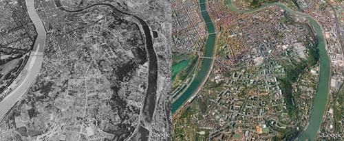 В Google Earth зявилися знімки часів Другої Світової війни