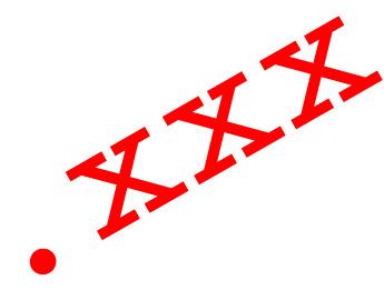 В інтернеті почалася попередня реєстрація доменів в зоні .XXX