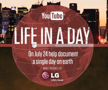 Трансляція фільму Life in a Day відбудеться 28 січня