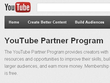 Youtube відкрив партнерську програму для заробітку грошей