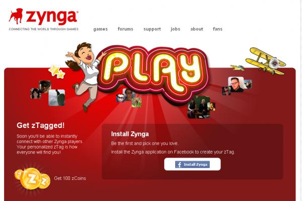 Zynga запустила соціальну мережу для ігроманів