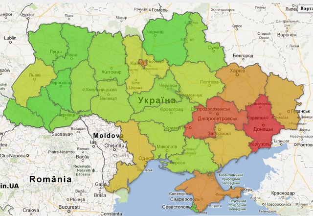 Онлайн карта криміногенної ситуації в Україні виграла «SocialBoost: Open Data»
