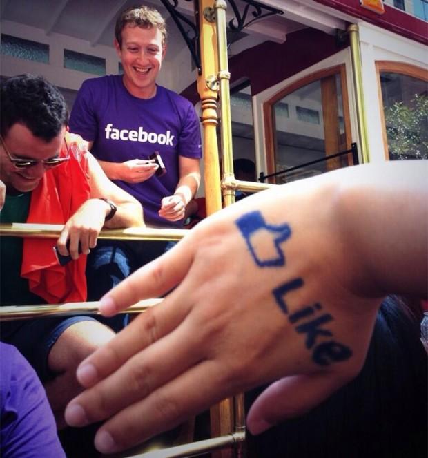 Марк Цукерберг долучився до гей параду в Сан Франциско