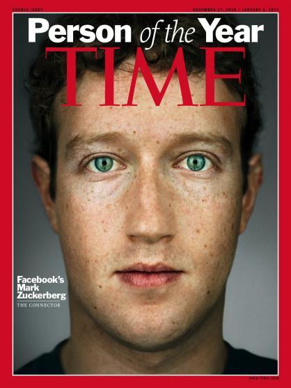 Марк Цукерберг – людина року